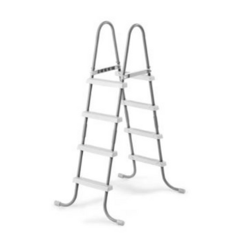 "LADDER ONLY- Intex 48"" Two-Section Ladder (Silver & White)"