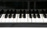 Black 30 Key Toy Piano with Bench - 2