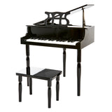 Black 30 Key Toy Piano with Bench - 1