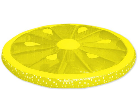 Inflatable Lemon Fruit Slices Pool Lounger