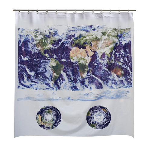 Astronaut's View Shower Curtain