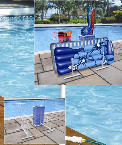 PVC Pool Toy Organizer