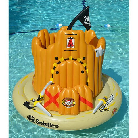 Pirate Island Inflatable Pool Toy