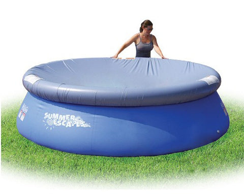 Pool Cover for 8 Ft Summer Escapes Quick Set Pool P10-0800
