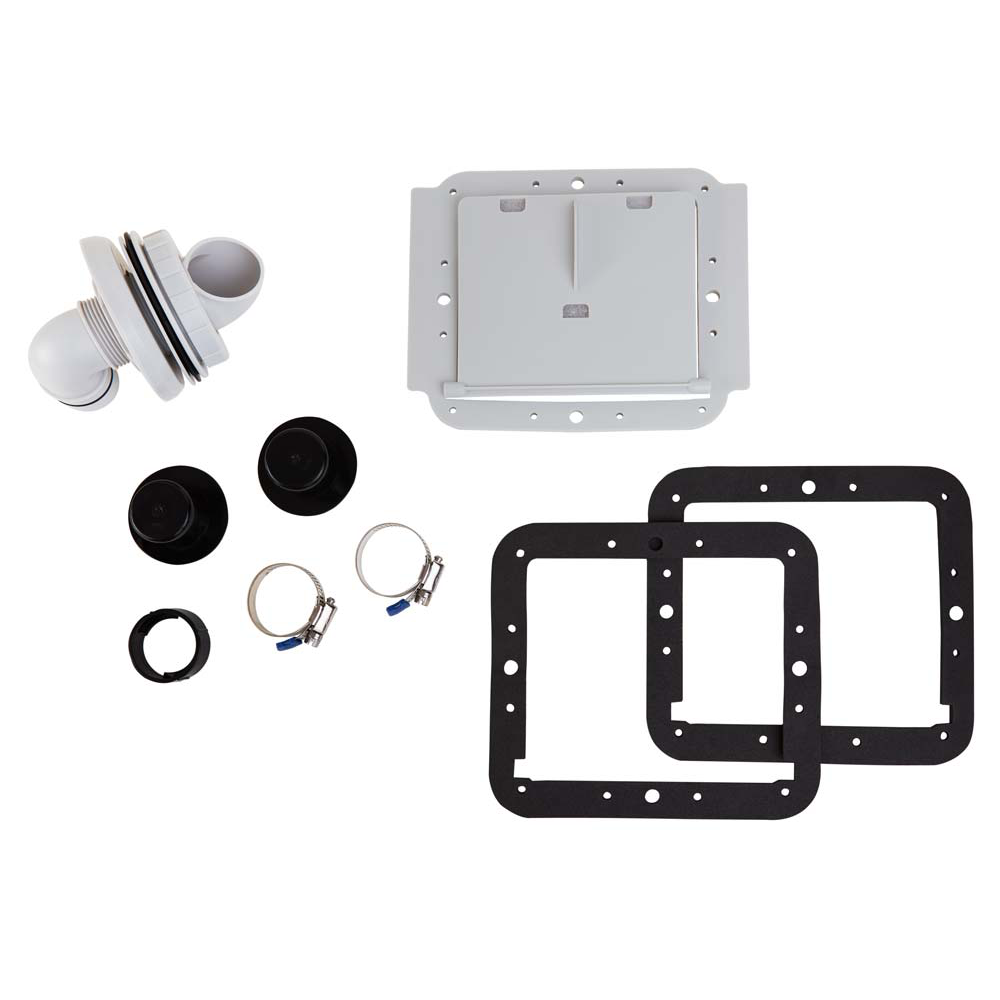 Replacement Wall Fitting Set for SFS 800, 1000, & 1500 Pumps by Summer Escapes