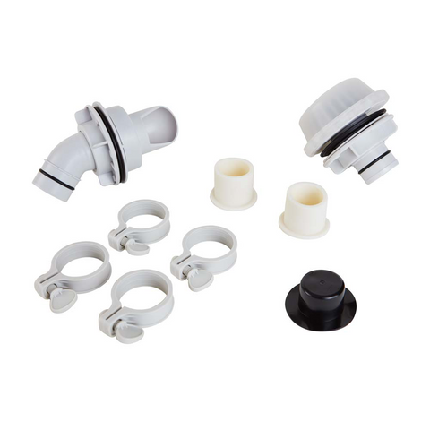 Replacement Wall Fitting Set for RX1000 Pumps by Summer Waves