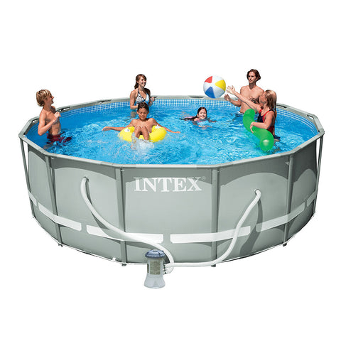 "Intex 14' x 48"" Ultra Frame Swimming Pool"