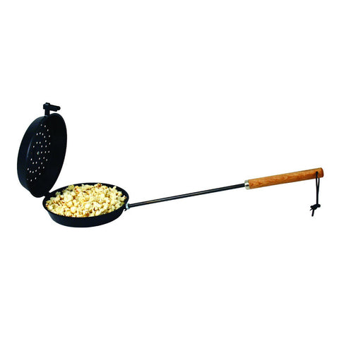 Non-Stick Popcorn Popper for Campfire Fire pit Cooking