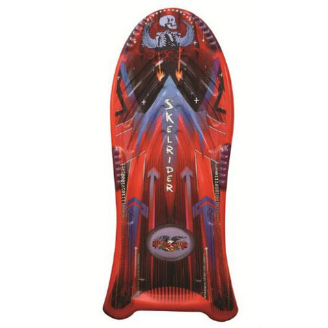Flexible Flyer Skelrider 48 Inch Compression Molded Toboggan Sled