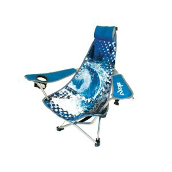 Backpack Chair, Blue Wave
