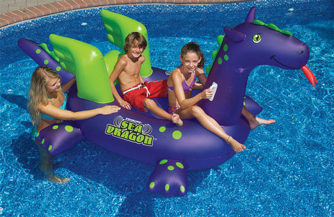 Sea Dragon Ride-On Pool Float
