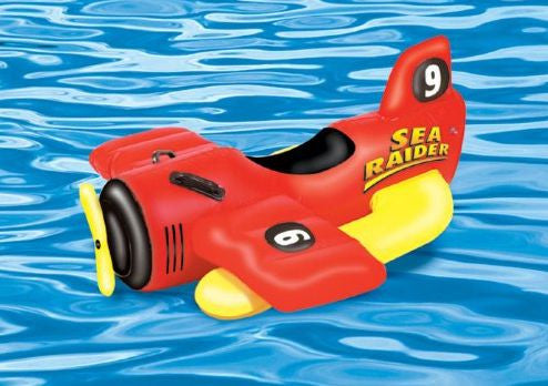 Sea Raider Sea Plane Ride On Pool Toy