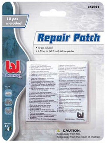 Set of 10 Vinyl Repair Patches