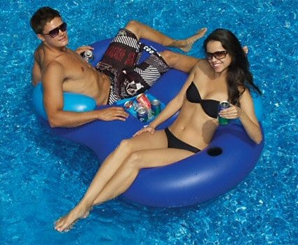 Solstice Style Float Cooler Combo Lounge