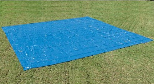 Square Ground Cloth for 15 ft Above Ground Pools