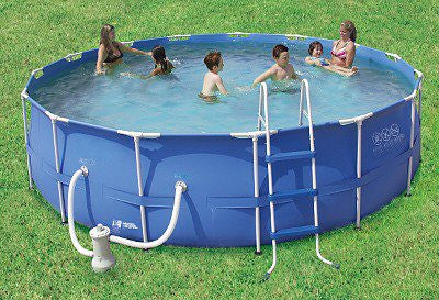 Summer Escapes 15 X 48 Quot Above Ground Frame Pool Set P20