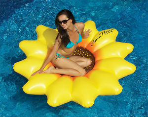 Sunflower Island Pool Float Lounge
