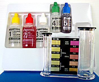 Swimline 4 in 1 Chlorine/pH Test Kit