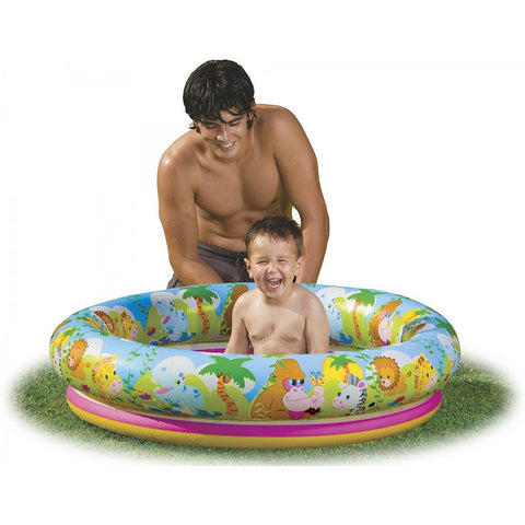 Jungle Fun Inflatable Baby Pool