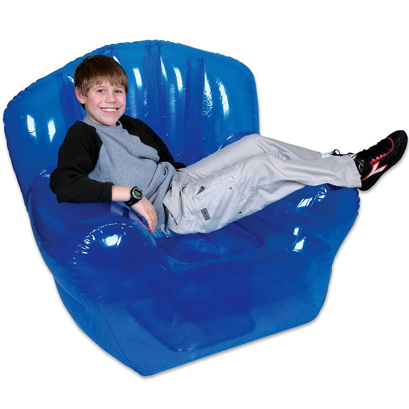 Inflatable Blue Chair