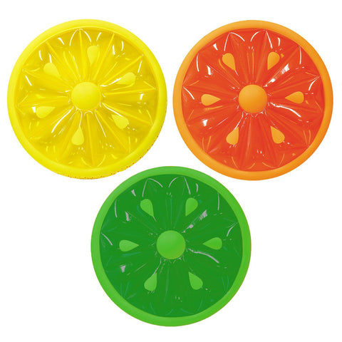 Inflatable Fruit Slice Pool Lounger - Assorted Colors