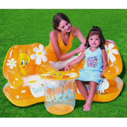 Inflatable Tweety Bird Table and Chair Set