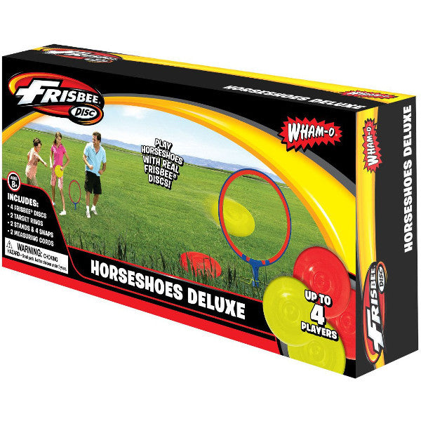 Deluxe Frisbee Horseshoes Game - 1