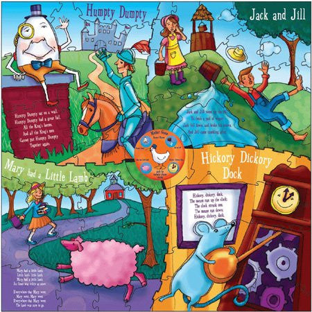 Mother Goose Nusery Rhyme Puzzle I