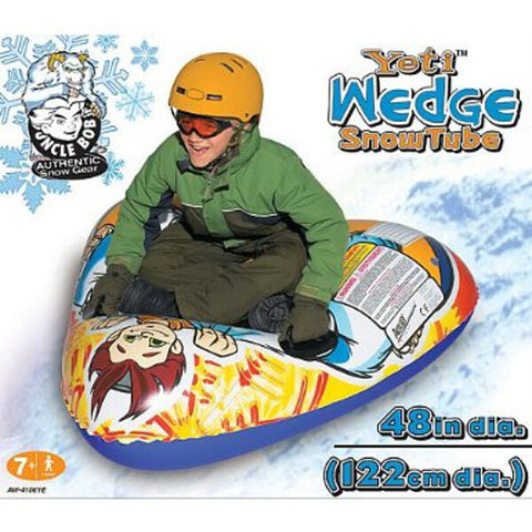Yeti Wedge Single Rider Snow Sled for Kids