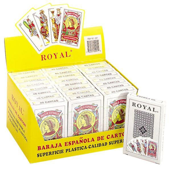 24 Decks of Spanish Style Paper Playing Cards