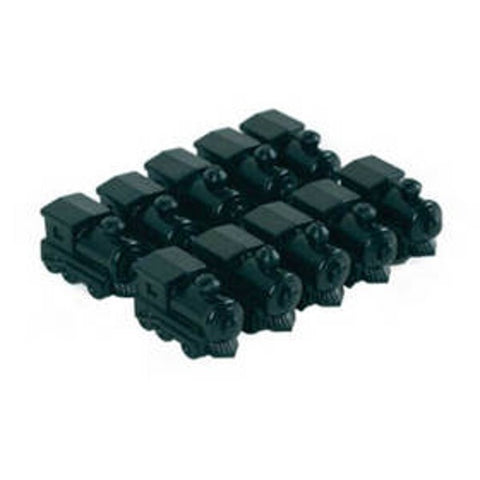 10 Piece Black Train Marker