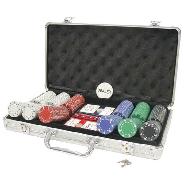 300 Piece 11½ gram Suited Chip Poker Set