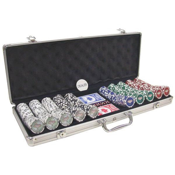 500 Piece 11½ gram Royal Flush Chip Poker Set