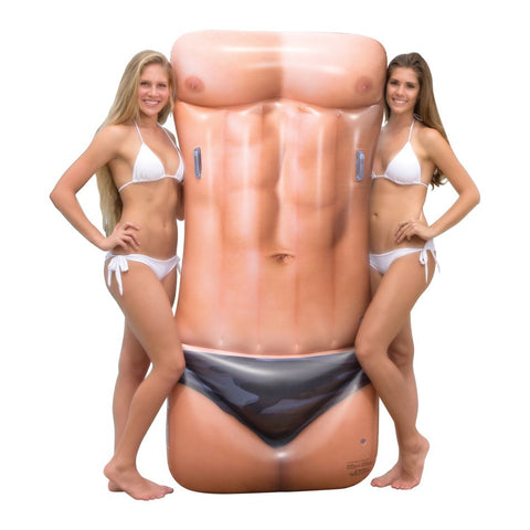 Men's Hot Body Inflatable Pool Float - 1