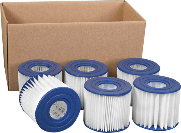 Summer Escapes Type D Filter Cartridge Case of 6