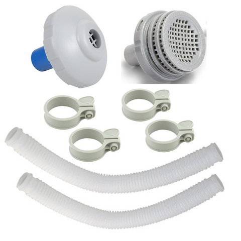1 1/4 Hose Fittings Kit for Above Ground Pools