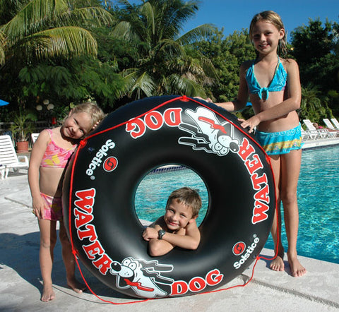 Water Dog Inflatable River Tube 48""
