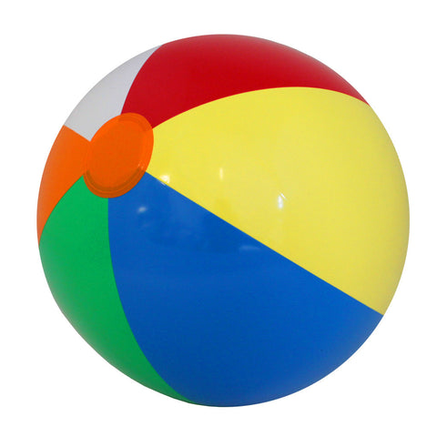 Giant Multi-Colored Beach Balls - 1