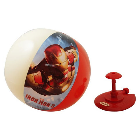 Iron Man Hover Ball Sprinkler Toy