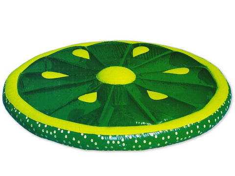 Inflatable Lime Fruit Slice Pool Lounger - 1