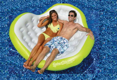 Lotus Blossom Inflatable Pool Lounge