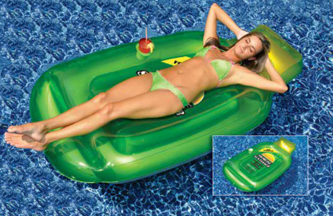 Suntanner Inflatable Pool Lounge
