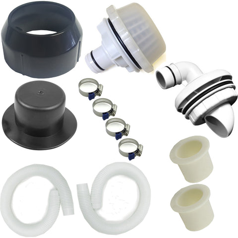 Complete Summer Escapes Wall Fitting & Hose Kit