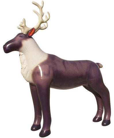 7' Tall Reindeer Inflatable - 1