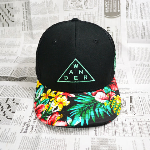 """WANDER"" TRUCKER SNAPBACK (LIMITED EDITION)"