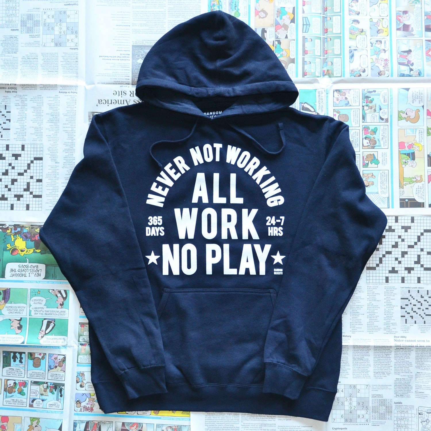 """ALWAYS WORKING"" PULLOVER"