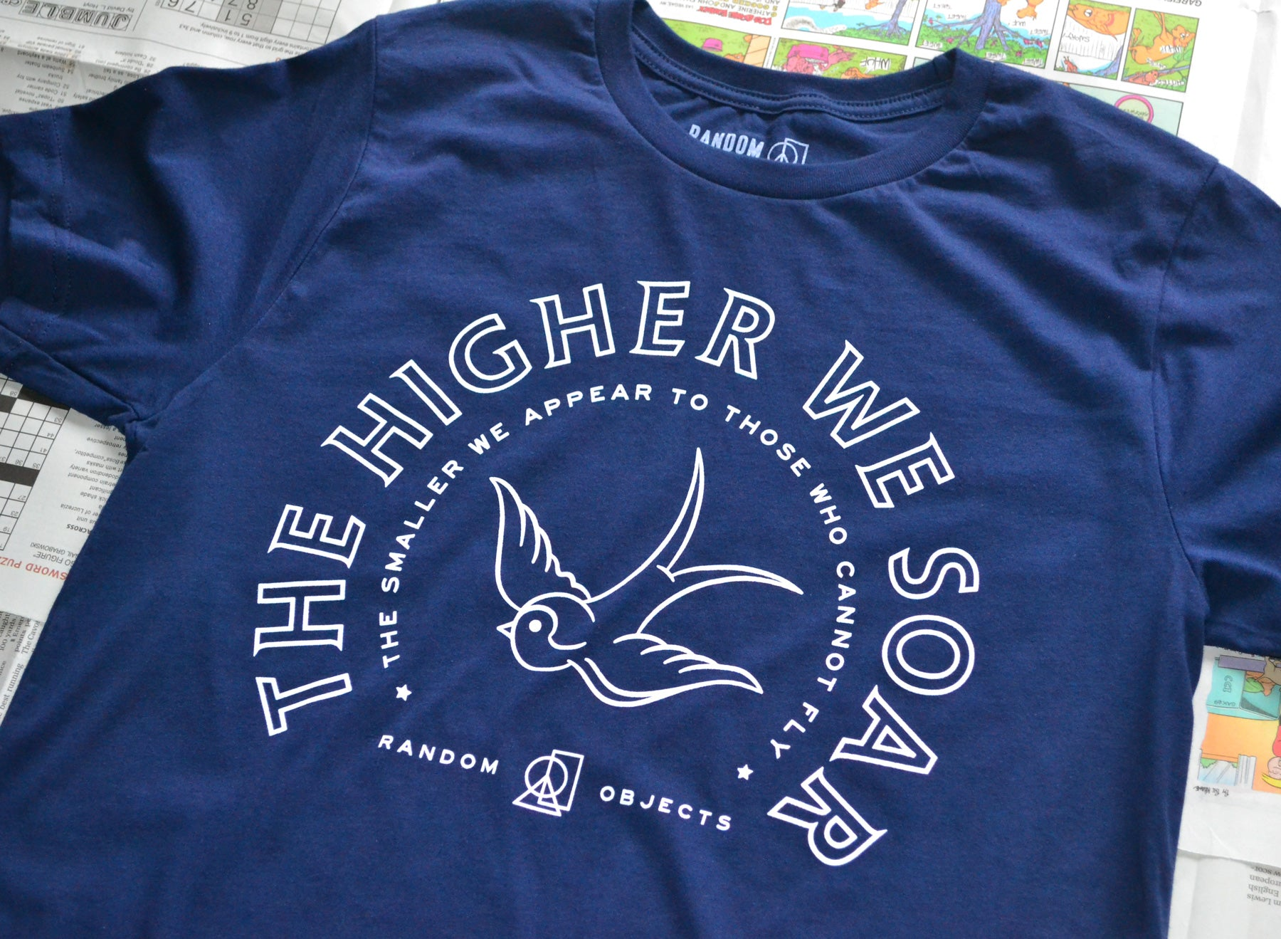 THE HIGHER WE SOAR