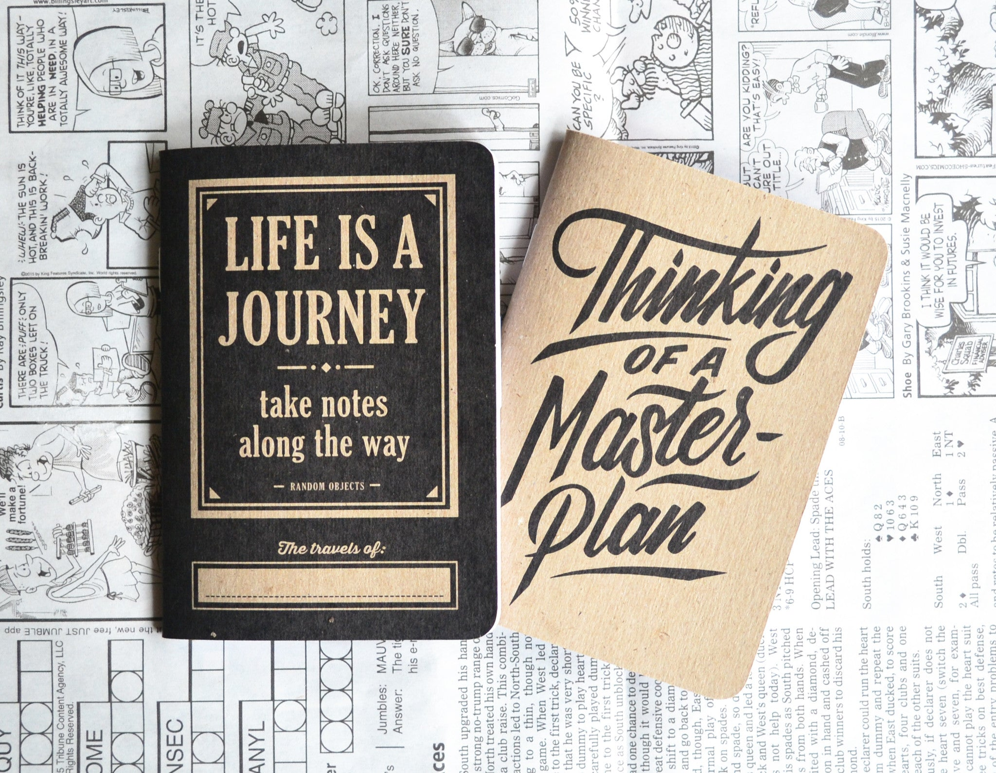 MASTERPLAN NOTEBOOK