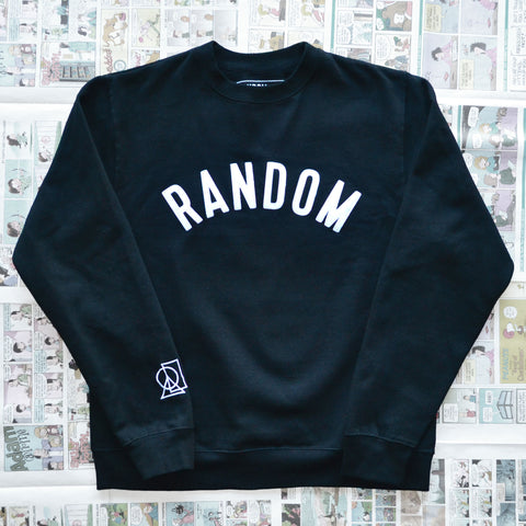 """RANDOM"" CREWNECK SWEATER"