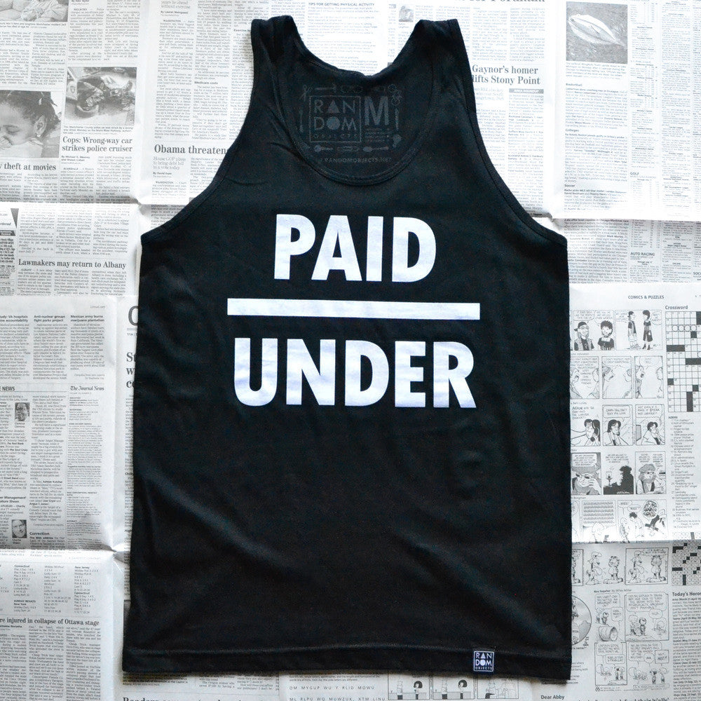 UNDERPAID (TANK TOP)